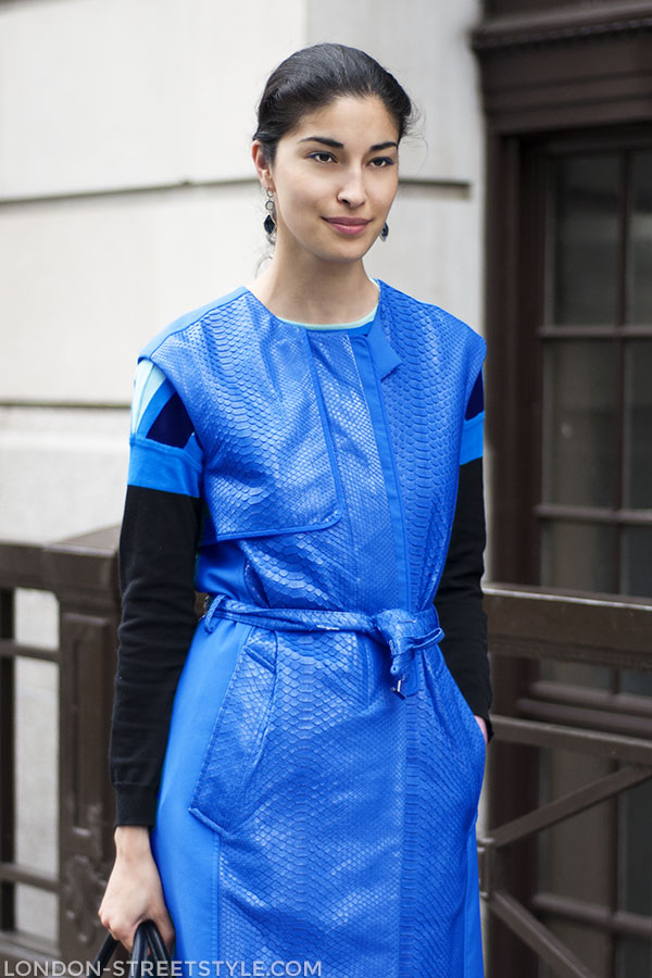 London Collections: Men Spring Summer 2014, fashion, street style,london streetstyle,fashion photography, fashionable, fashionista, street fashion, women's fashion, womensfashion, womenswear, style, navy gilet, black sweater, Reed Krakoff, Ohne Titel, Caroline Issa