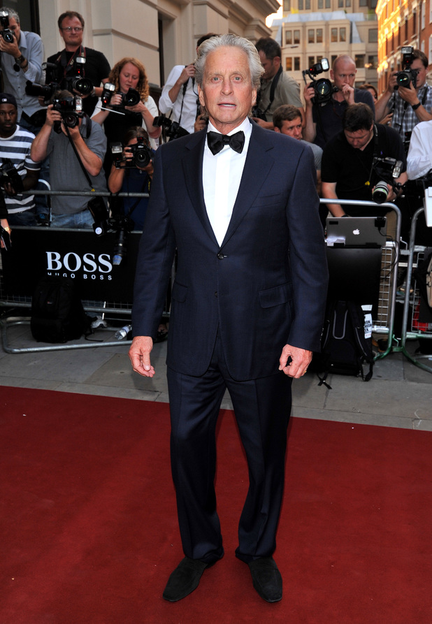 GQ Men of the Year awards 2013, Royal Opera House, London, Michael Douglas, Remy Martin
