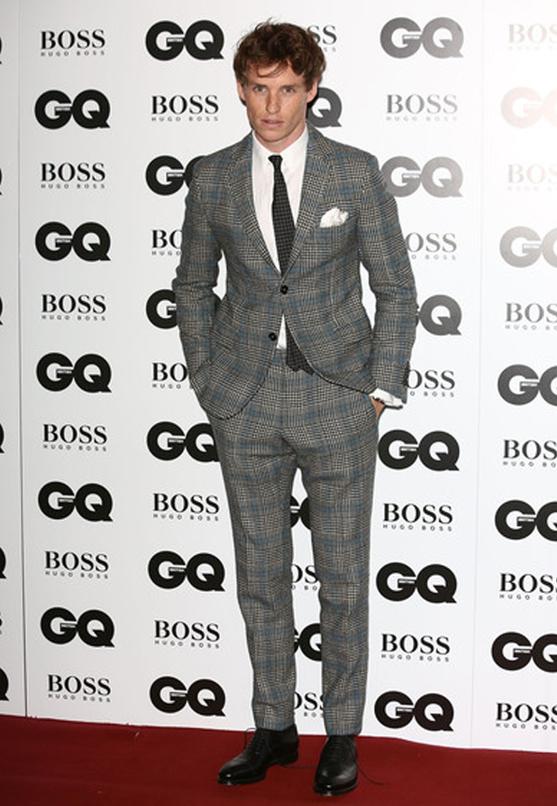 GQ Men of the Year awards 2013, Royal Opera House, London, Eddie Redmayne, Remy Martin