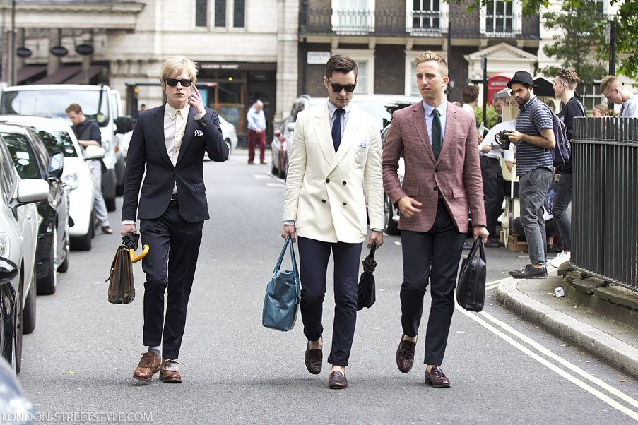 London Collections Men Spring Summer 2015, Spring Sumer 2015, London Collections Men, LCM, LCM SS15, fashion, street style,london streetstyle,fashion photography, fashionable, fashionista, street fashion, men's fashion, mensfashion, menswear, style, stylish men, elegance, class, handsome man, silviu doroftei, London-streetstyle.com, trio, in the moment, blazer, men's blazer, mens blazer, white blazer, white men's blazer, burgundy blazer, men's burgundy blazer, mens burgundy blazer, navy blazer, men''s navy blazer, tie, men's tie, navy tie, navy men's tie, squarepocket, men's squarepocket, bag, men's bag, loafers, men's loafers, brown loafers, brown men's loafers