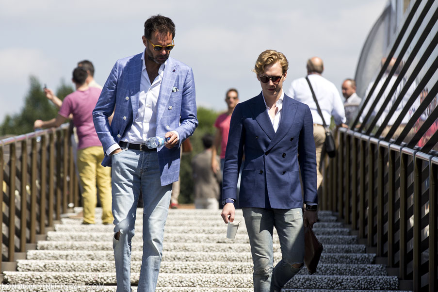 Pitti Imagine Uomo, Pitti Imagine Uomo 2014, Pitti Imagine Uomo 86, Italy, Florence, Firenze, Fortezza da Basso , fashion, street style,fashion photography, fashionable, fashionista, street fashion, men's fashion, mensfashion, menswear, style, class, stylish men,stylish man, silviu doroftei, london-streetstyle.com, spring summer 2015, ss15, pitti streetstyle, pitti uomo streetstyle, pitti 86 streetstyle, pitti uomo 86 streetstyle, AB Baxer,AB Baxer Sweden, Fredrik and Geir